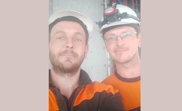 Martin und Milos – Klempner bei Techvisie